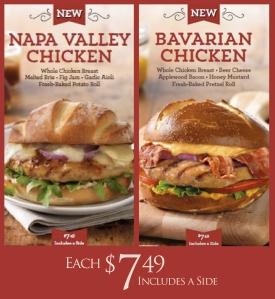 new sandwiches