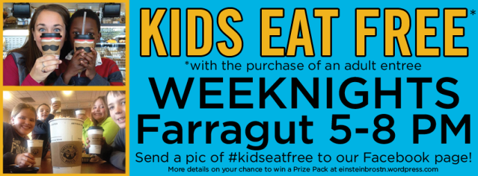kids eat free cover photo