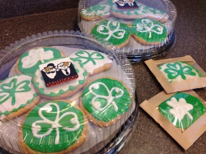 st pattys cookies